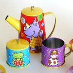 Happy Animal Tea Set